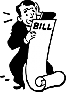 Worried with large bill